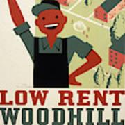 New Deal Wpa Poster Art Print