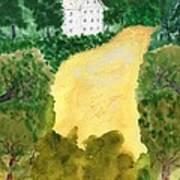 21 Room House On Golden Lake Dream Art Print