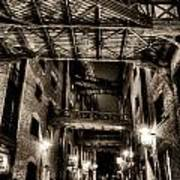 Butlers Wharf London Art Print
