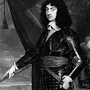 Charles II (1630-1685) Art Print