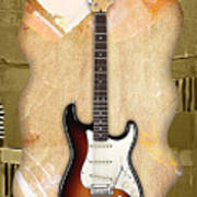 Fender Stratocaster Collection Art Print