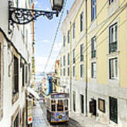 The Bica Funicular Art Print