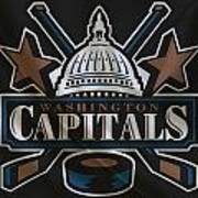 Washington Capitals Art Print