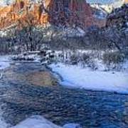 Zion National Park Utah Art Print by Utah Images