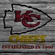 Kansas City Chiefs Art Print
