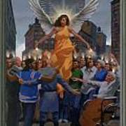 23. The Holy Spirit Arrives / From The Passion Of Christ - A Gay Vision Art Print