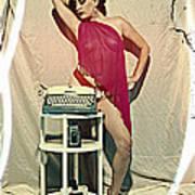 Typewriter Erotica Art Print