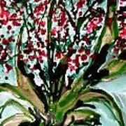 Heavenly Flowers Art Print