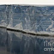 Iceberg, Antarctica Art Print