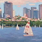 25 On The Charles Art Print
