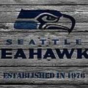 Seattle Seahawks Art Print