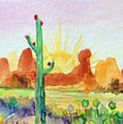 Southwestern Landscape Art Print