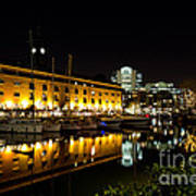 St Katherines Dock London Art Print
