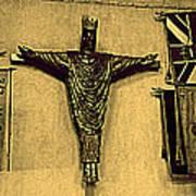 Church Jesus  Art Print