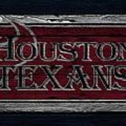 Houston Texans Art Print