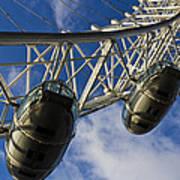 The London Eye Art Print