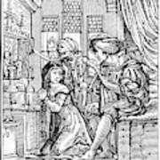 Dance Of Death, 1538 Art Print