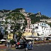 Views From The Amalfi Coast In Italy Art Print