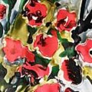 Fragrance Of Flowers Art Print