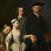 2nd Baron Mansel Of Margam With His Blackwood Half-brothers And Sister  Art Print