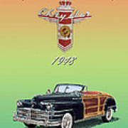 1948 Chrysler Town And Country Art Print