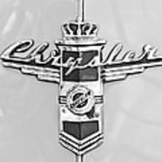 1948 Chrysler Town And Country Sedan Emblem Art Print