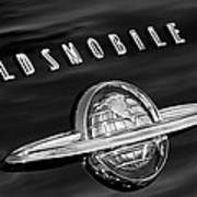 1950 Oldsmobile 88 Emblem Art Print