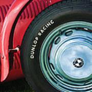 1952 Frazer-nash Le Mans Replica Mkii Competition Model Tire Emblem Art Print