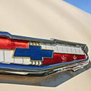 1955 Chevrolet Belair Emblem Art Print