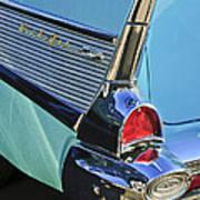 1957 Chevrolet Belair Taillight Art Print