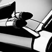 1959 Cadillac Convertible Art Print