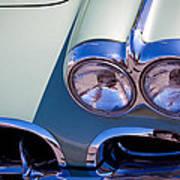 1960 Chevy Corvette Art Print
