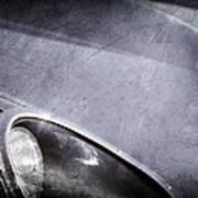 1963 Jaguar Xke Roadster Headlight Art Print