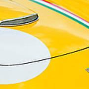 1964 Ferrari 250 Gt Lusso Hood Emblem Art Print