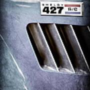 1965 Shelby Cobra 427 Emblem Art Print