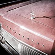 1967 Lincoln Continental Hood Ornament - Emblem Art Print
