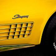 1971 Chevrolet Corvette Stingray Art Print