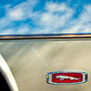 1995 Jaguar Emblem Art Print