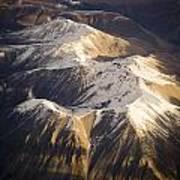 Aerial Mountains Art Print