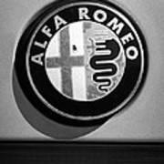 Alfa Romeo Emblem Art Print