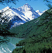 Altai Mountains Art Print