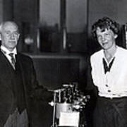 Amelia Earhart Art Print