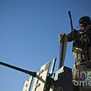 An Afghan National Army Soldier Art Print
