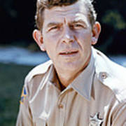 Andy Griffith In The Andy Griffith Show  Art Print