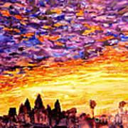 Angkor Sunrise Art Print