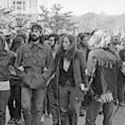 Anti-war Protest, 1971 Art Print