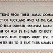 Anzac Day 2014 Auckland Art Print