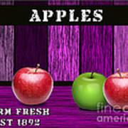 Apple Farm Art Print