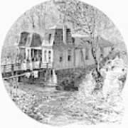 Arkansas Hot Springs, 1878 Art Print by Granger