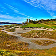#3 At Chambers Bay Golf Course - Location Of The 2015 U.s. Open Championship Print by David Patterson